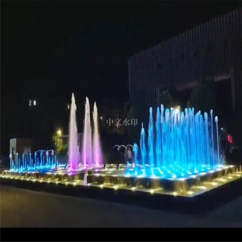 海南喷泉厂家定制音乐喷泉