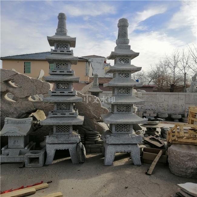 海南不锈钢雕塑宝塔