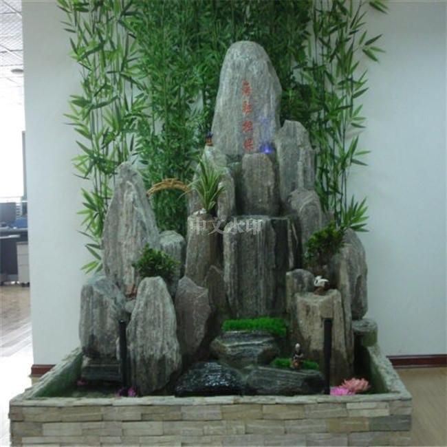 海南喷泉厂家制作假山盆景