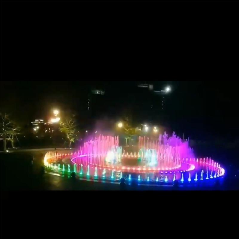 水池音乐喷泉